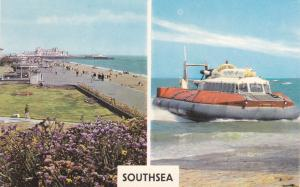 Hovercraft & Promenade, Southsea (Hampshire), England, 50-60s