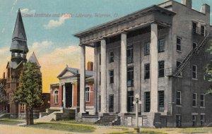 WARREN , Ohio , 1911 ; Dana Institute & Public Library