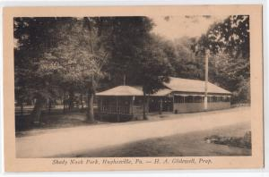 Shady Nook Park, Hughesville PA