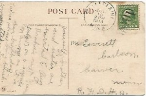Dutch Couple Vintage Postcard Ven mine girl goes mit odder fellers, Himmel! How