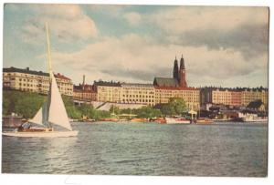 Stockholm - Hogalidskyrkan fran Arstaviken