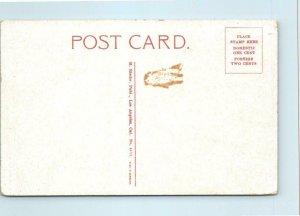 COEUR d'ALENE, Idaho ID ~ Entrance to HOTEL IDAHO ca 1910s Rieder Postcard