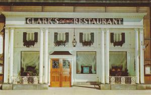 Clark's Colonial Restaurant, Cleveland, Ohio, 40-60s