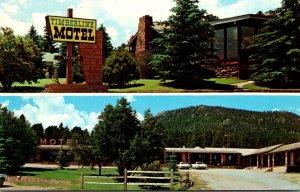 Colorado Rocky Mountains Estes Park Timberline Motel 1969