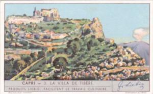 Liebig S1287 Capri No 3 La Villa De Tibere