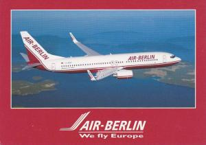 AIR-BERLIN Airlines Boeing 737-800 Airplane , 60-80s