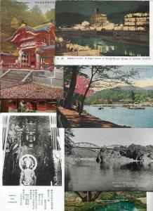 Japan Nikko Kyoto Tokyo Kamakura and more Postcard Lot of 20 - 01.12