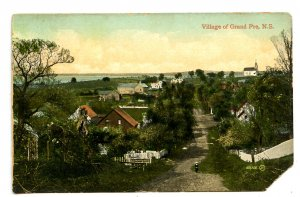 Canada - Nova Scotia, Grand Pre. Village       (corner missing)