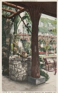 RIVERSIDE, California, 1900-10s; Glenwood Mission Inn, St. Catherine's Well