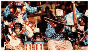 Ringling Bros. Barnum Bailey Circus -  Chimpanzees Monkeying Around Pla...