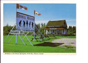 Home and Birthplace Dionne Quintuplets, Quints Museum, Ontario, Canada