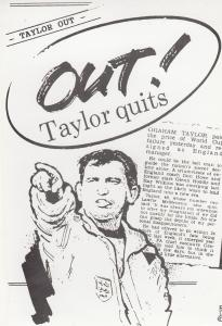 Graham Taylor Quits San Marino Score Limited Edition England 1994 World Cup P...
