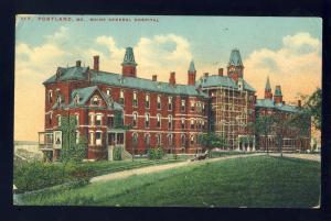 Portland, Maine/ME Postcard, Maine General Hospital, 1910!