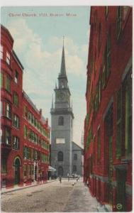 Christ Church, Est. 1723, Boston Massachusetts 1900-10s