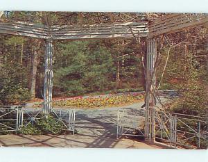 Pre-1980 SARAH DUKE GARDENS AT DUKE UNIVERSITY Durham North Carolina NC Q0728