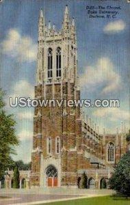 The Chapel, Duke University in Durham, North Carolina