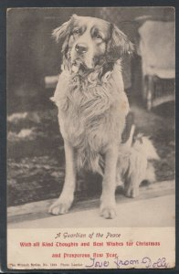 Animals Postcard - Dogs - A Guardian of The Peace Dog  RS20748