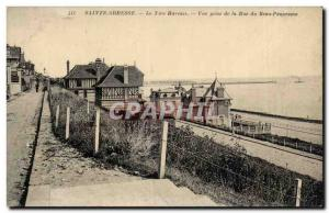 Postcard Old Ste Adresse Le Havre Nice View from the street of the beautiful ...
