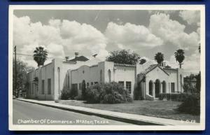 McAllen Texas tx Chamber of Commerce real photo postcard RPPC