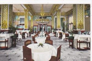 Louisiana New Orleans Hotel De Soto Portion Of Main Dining Room Curteich