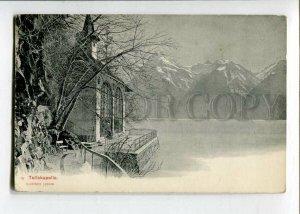 3129702 Switzerland Tellskapelle Vintage postcard