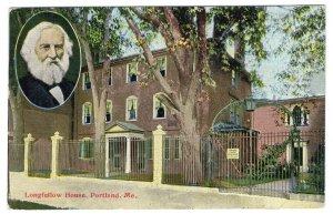 Portland, Me, Longfellow House