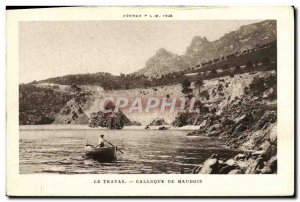 Postcard From Old Trayas cove Maudois