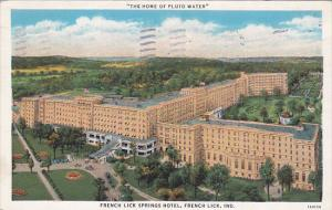 French Lick Springs Hotel, FRENCH LICK, Indiana, PU-1935