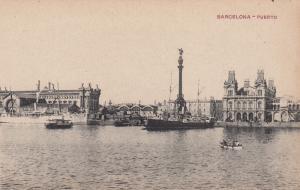 BARCELONA , Spain , 00-10s ; Puerto , ships in port