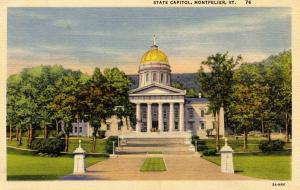 VT - Montpelier. State Capitol