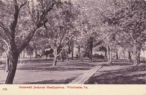 Stonewall Jacksons Headquarters, WINCHESTER, Virginia, 1900-1910s