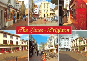 Postcard BRIGHTON The Lanes, East Sussex by J. Salmon Ltd #2621233