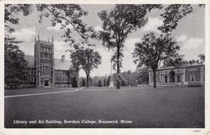 Library and Art Building - Bowdoin College - Brunswick, Maine
