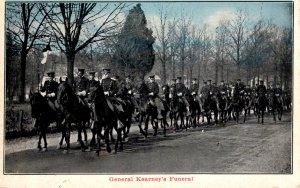 Military - Men on Horseback for General Kearney's Funeral - c1910