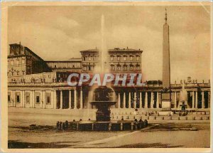 Postcard Modern Citta del Vaticano St. Peter's Square with the Vatican Palace