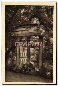 Old Postcard Paris Parc Monceau
