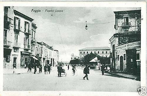 FG003  CARTOLINA d'Epoca: FOGGIA Città - BELLA!