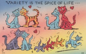CATS ; Variety is the Spice of Life , 1930-40s