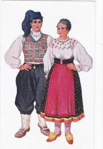 Croation National Wear : Croatia , 50-60s