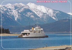Kootenay Lake Ferry , B.C. , Canada , 50-70s