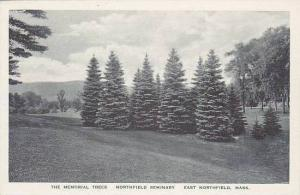 Massachusetts East Northfield The Memorial Trees Northfield Seminary Albertype