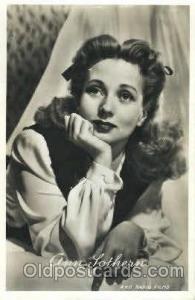 Ann Lothern Actor, Actress, Movie Star, Postcard Post Card Actor Actress, Mov...