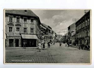 191080 SLOVAKIA BRATISLAVA Dunajska str Vintage photo postcard