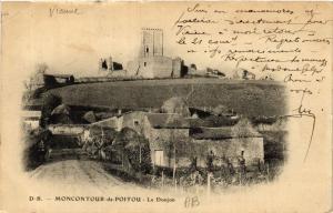 CPA Montcontour de POITOU - Le Donjon (365554)
