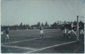 68835 -  SOUTH AFRICA - VINTAGE POSTCARD: FOOTBALL STADIUM  - Cape Town  1915