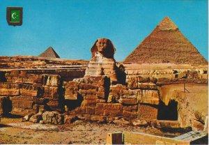 POSTAL 62562 : Las Piramides de Kephren y Mycerinos. Giza. Egipto