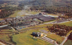 Aerial View American Enka Corporation North Carolina c1950s Vintage Postcard