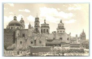 Postcard Grupo de Torres, San Miguel de Allende Gto RPPC Y62