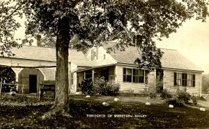 NH - Claremont. Residence of Worcester J. Bailey.  *RPPC