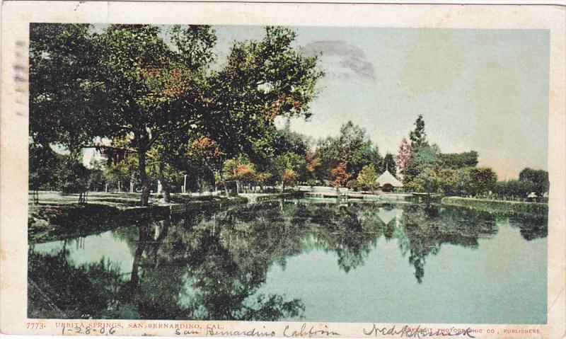 Urbita Springs, San Bernandino, California, PU-1906